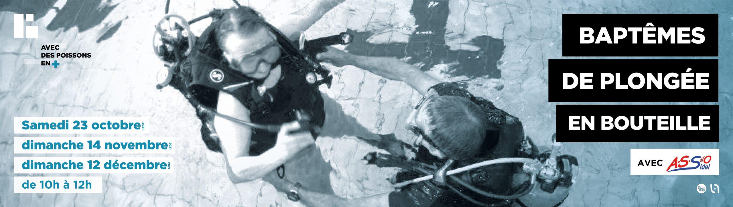 Baptêmes de plongée